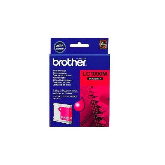 Brother LC1000 magenta eredeti tintapatron