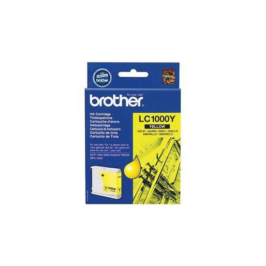 Brother LC1000 sárga eredeti tintapatron