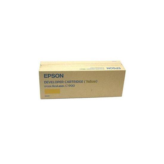 Epson C1900 4,5k (S050097) sárga eredeti toner