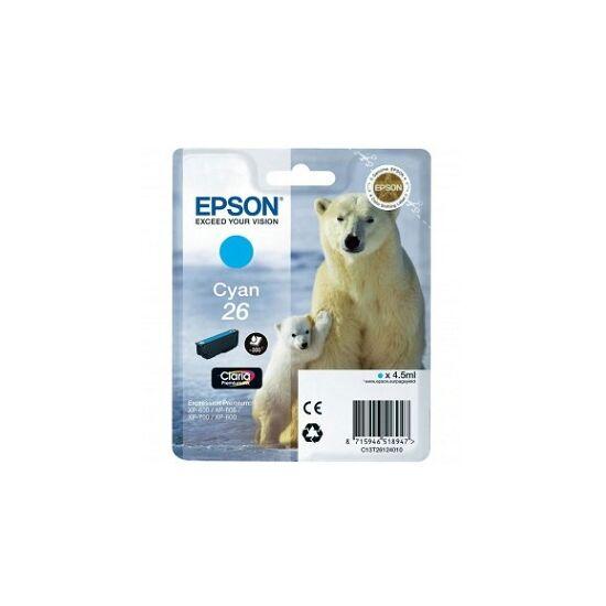 Epson T2612 kék eredeti tintapatron