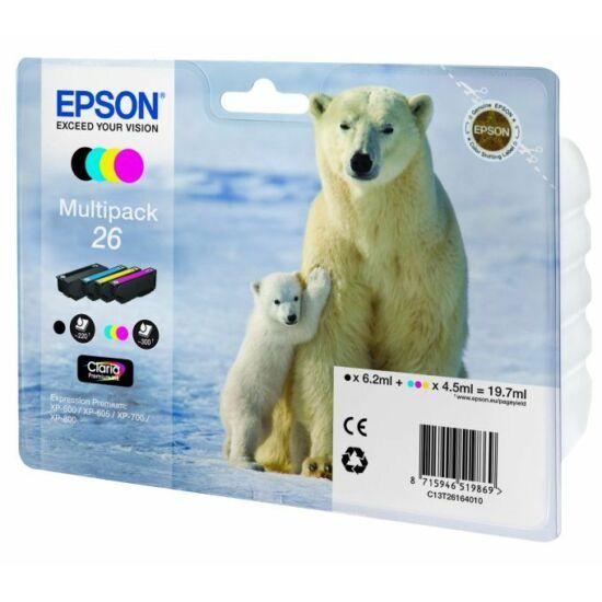Epson T2616 eredeti tintapatron multipack
