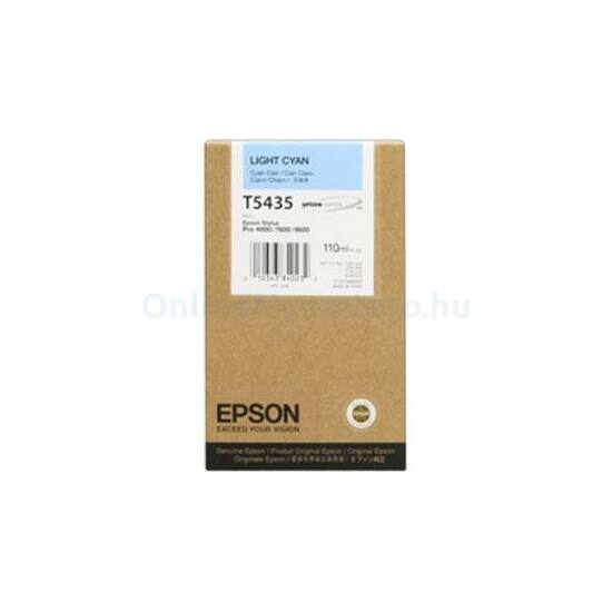 Epson T5435 világoskék eredeti tintapatron