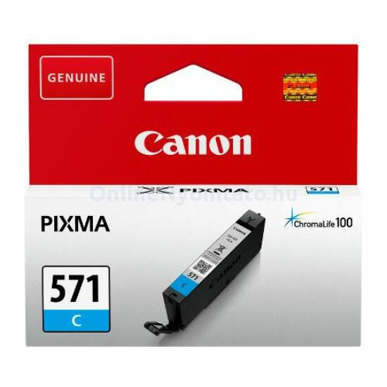 Canon CLI-571 kék eredeti tintapatron