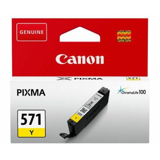 Canon CLI-571 sárga eredeti tintapatron