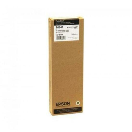 Epson T6941 fotó fekete eredeti tintapatron