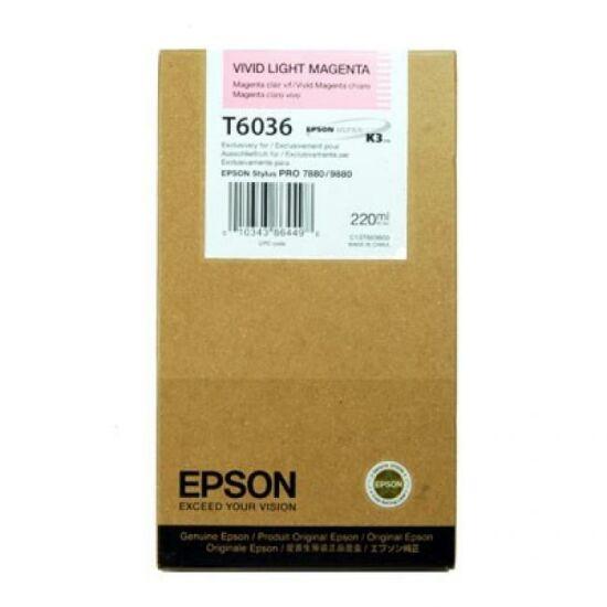 Epson T6036 világos magenta eredeti tintapatron