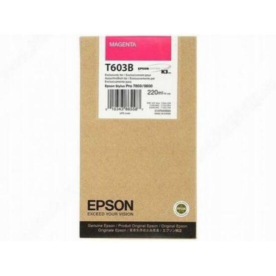 Epson T603B magenta eredeti tintapatron