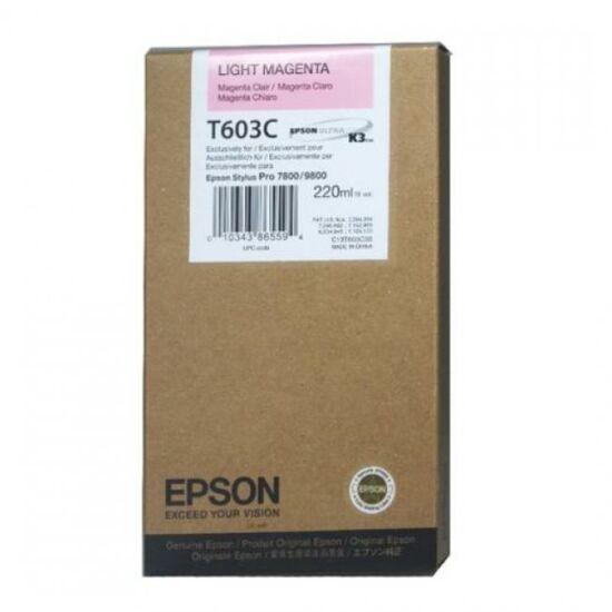 Epson T603C világos magenta eredeti tintapatron