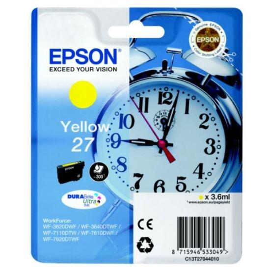 Epson T2704 sárga eredeti tintapatron