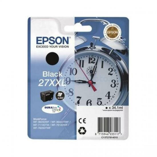 Epson T2791 fekete eredeti tintapatron
