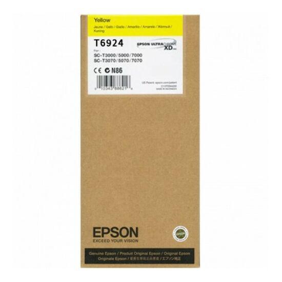 Epson T6924 sárga eredeti tintapatron