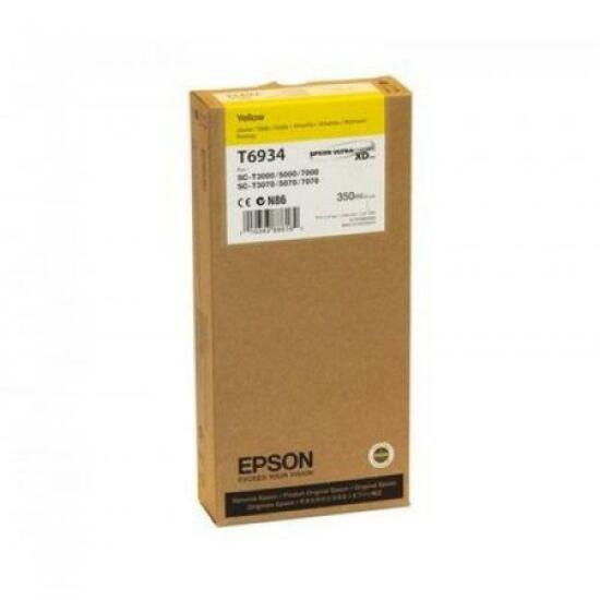 Epson T6934 sárga eredeti tintapatron