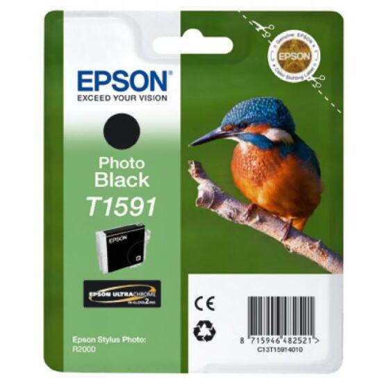 Epson T1591 fekete eredeti tintapatron