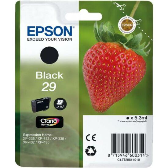 Epson T2981 fekete eredeti tintapatron