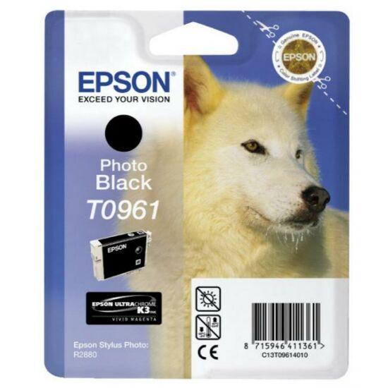 Epson T0961 fekete eredeti tintapatron