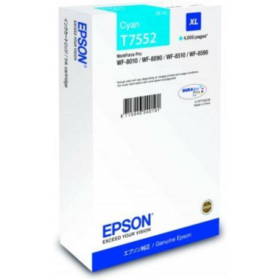 Epson T7552 kék eredeti tintapatron
