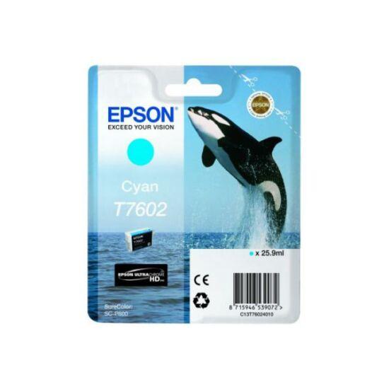 Epson T7602 kék eredeti tintapatron