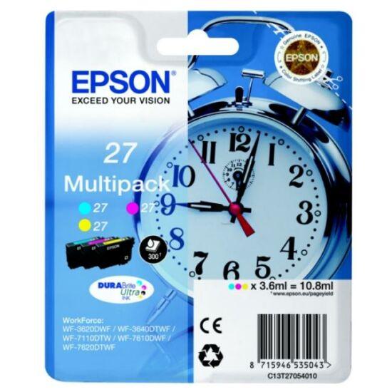 Epson T2705 színes (C/Y/M) eredeti tintapatroncsomag