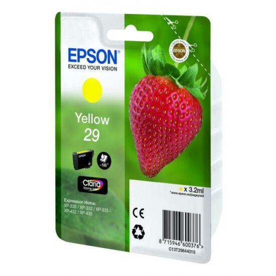 Epson T2984 sárga eredeti tintapatron
