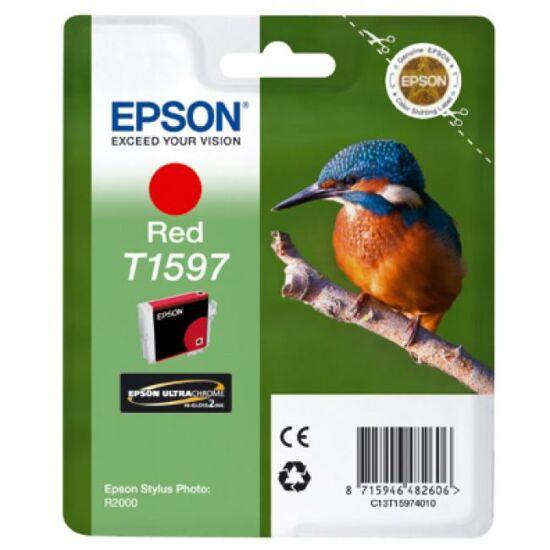 Epson T1597 piros eredeti tintapatron