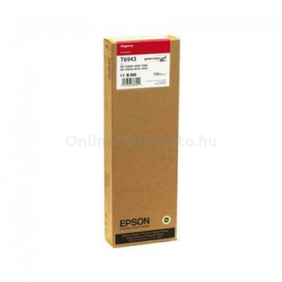 Epson T6943 magenta eredeti tintapatron