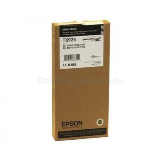 Epson T6925 matt fekete eredeti tintapatron