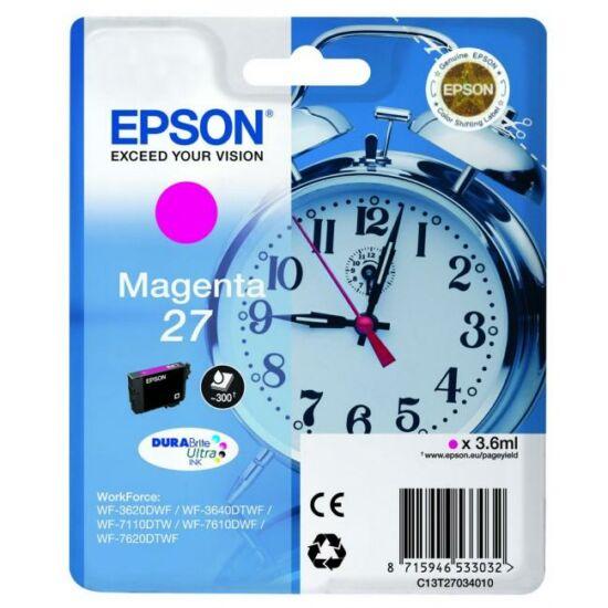Epson T2703 magenta eredeti tintapatron