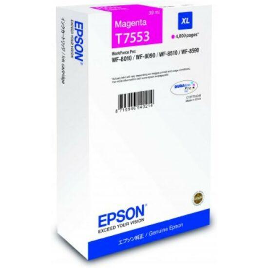 Epson T7553 magenta eredeti tintapatron