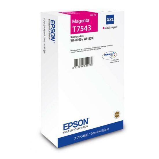 Epson T7543 magenta eredeti tintapatron