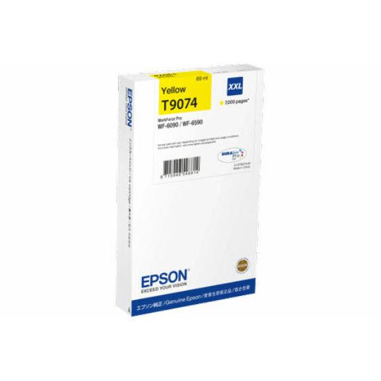 Epson T9074 sárga eredeti tintapatron