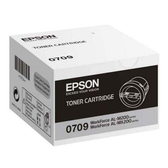 Epson M200,MX200 2,5k (S050709) fekete eredeti toner