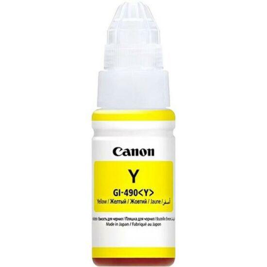 Canon GI-490 sárga eredeti tintapatron