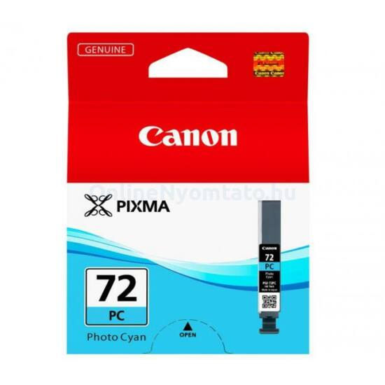 Canon PGI-72 fotó kék eredeti tintapatron