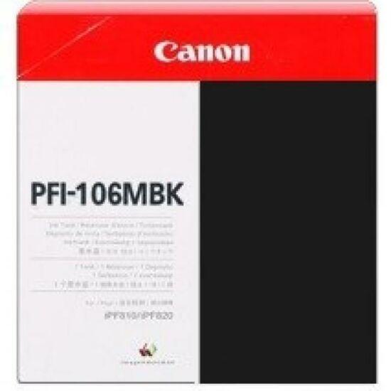 Canon PFI-106 matt fekete eredeti tintapatron
