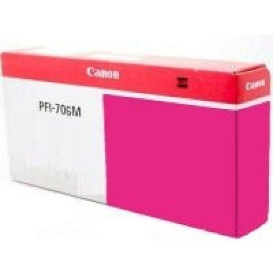 Canon PFI-706 magenta eredeti tintapatron