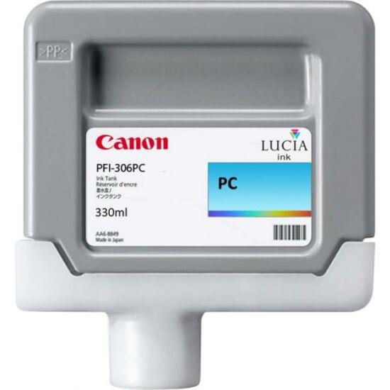 Canon PFI-306 fotó kék eredeti tintapatron