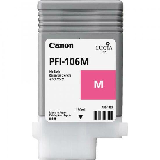 Canon PFI-106 magenta eredeti tintapatron