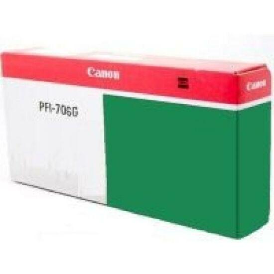 Canon PFI-706 zöld eredeti tintapatron