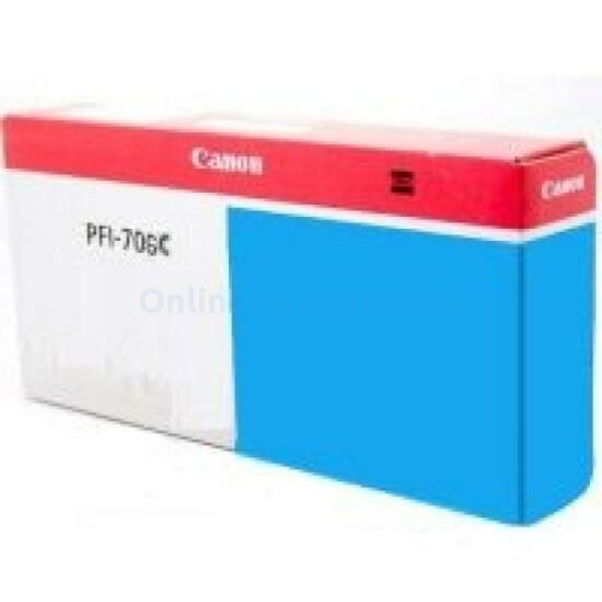 Canon PFI-706 kék eredeti tintapatron