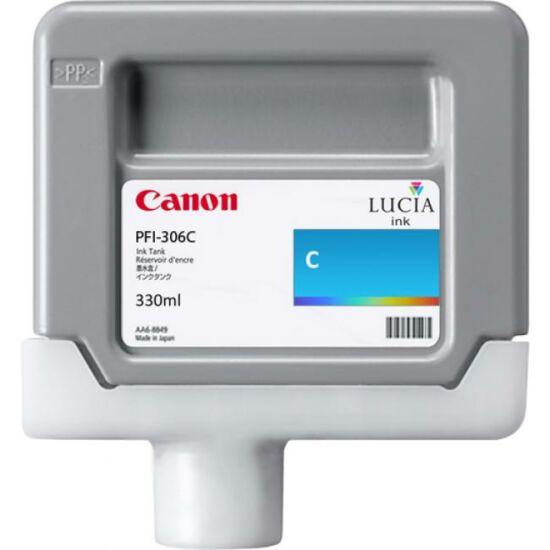 Canon PFI-306 kék eredeti tintapatron