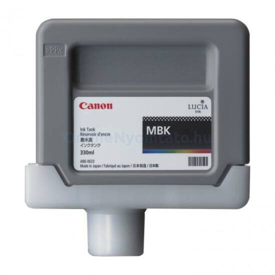 Canon PFI-306 matt fekete eredeti tintapatron