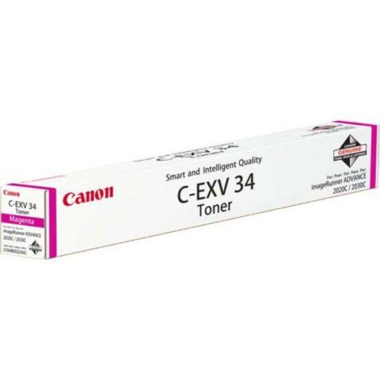 Canon C-EXV34 magenta eredeti toner