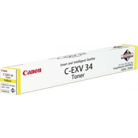 Canon C-EXV34 sárga eredeti toner