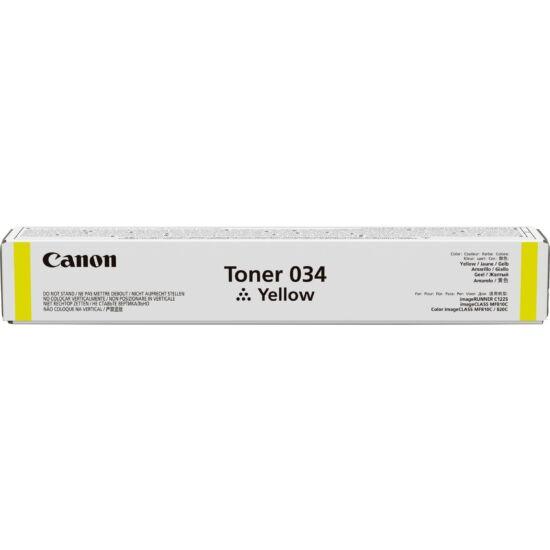 Canon IRC1225 sárga eredeti toner