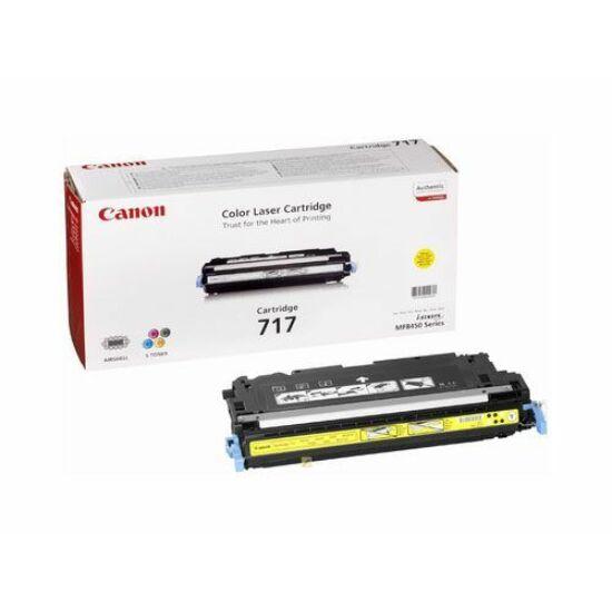 Canon CRG-717 sárga eredeti toner