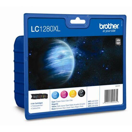 Brother LC1280XL színes eredeti tintapatron multipack