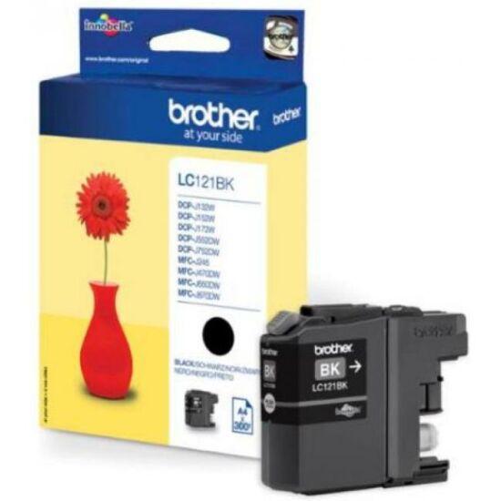 Brother LC121 fekete eredeti tintapatron