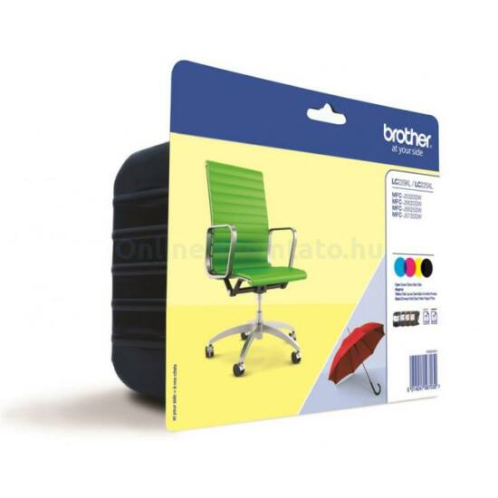 Brother LC229XL eredeti tintapatron multipack