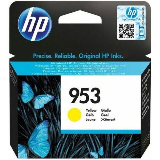 HP F6U14AE No.953 sárga eredeti tintapatron