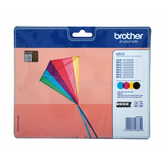 Brother LC223 eredeti tintapatron multipack